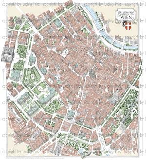 Kompletter Wienplan